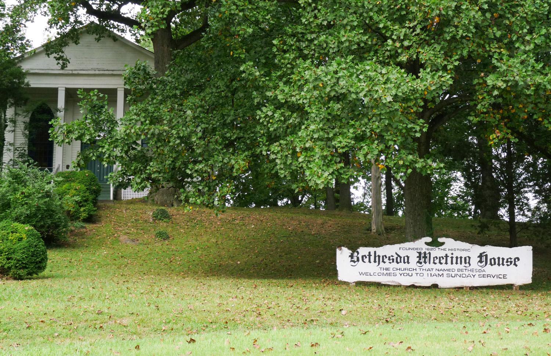Kostelík v oblasti Maplewood, Bethesda, MA